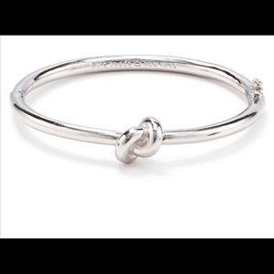 Kate Spade LADIES sailor knot silver Bracelet NWT